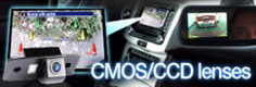 CMOS and CCD Mercedes reverse parking cameras